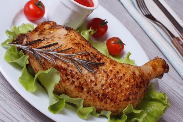 Pečené provensálske kurča |
