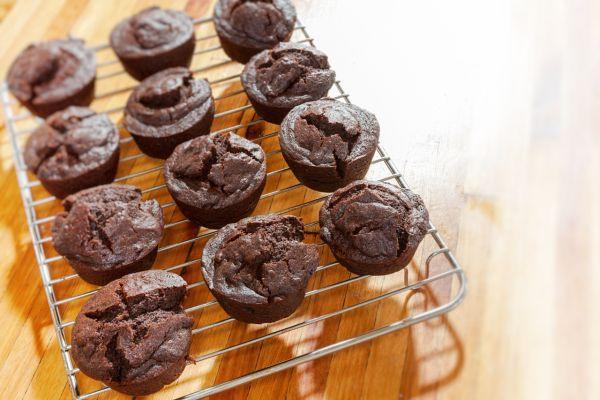 Čokoládové muffiny s avokádom |