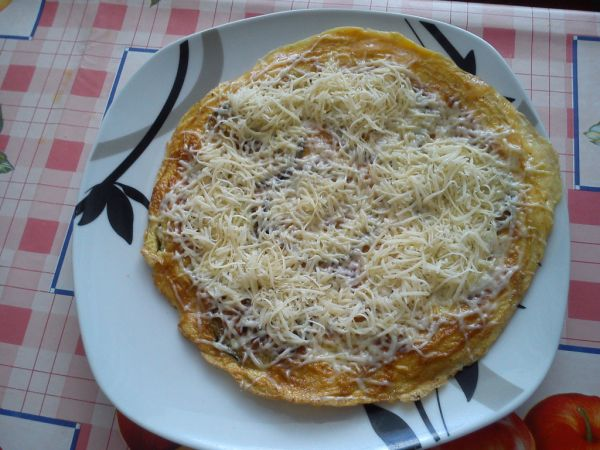 Cukinová omeleta |