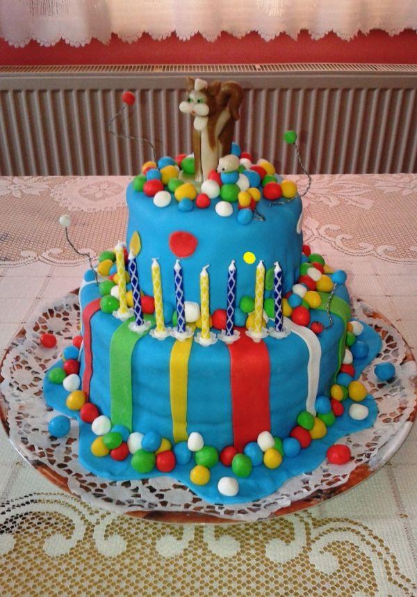 Torta s čokoládovým krémom |