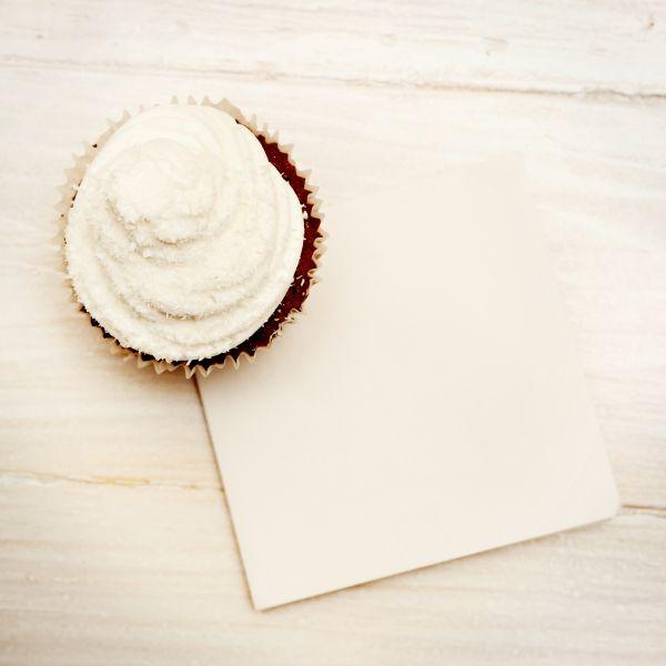 Čokoládové cupcakes s rumom a kokosom |