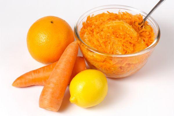 Opekaná mrkva s pomarančom |