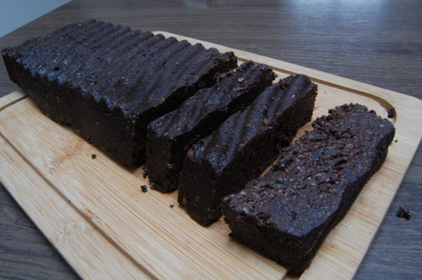 Raw brownies |