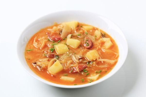 Bravčová kapustová polievka |