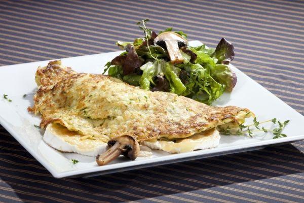 Zemiaková omeleta s hubami |