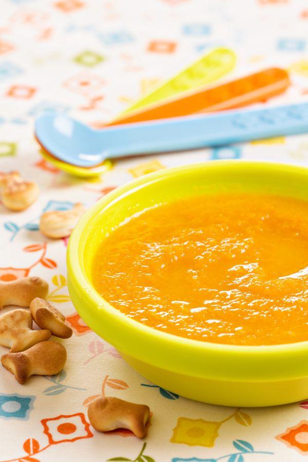 Zeleninový príkrm pre dojčatá s kuracinkou |