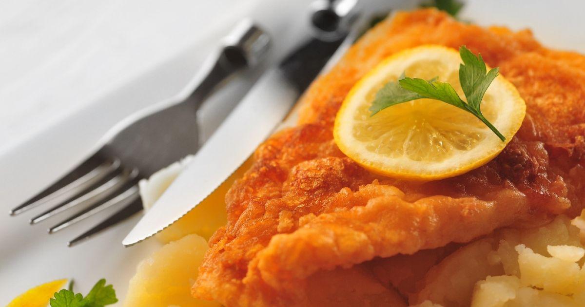 Vyprážaná ryba s mandľami, fotogaléria 1 / 1.