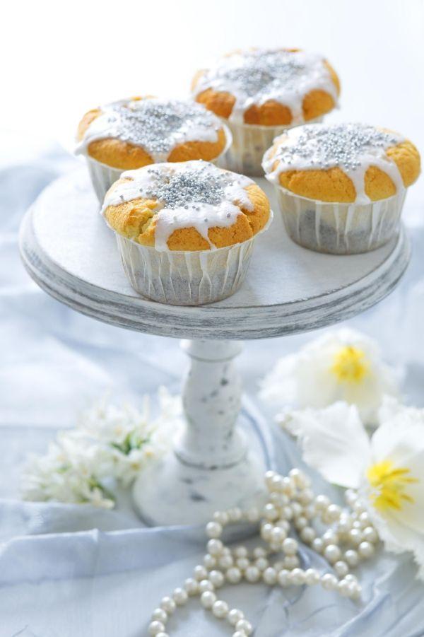 Limetkové muffiny s makom |