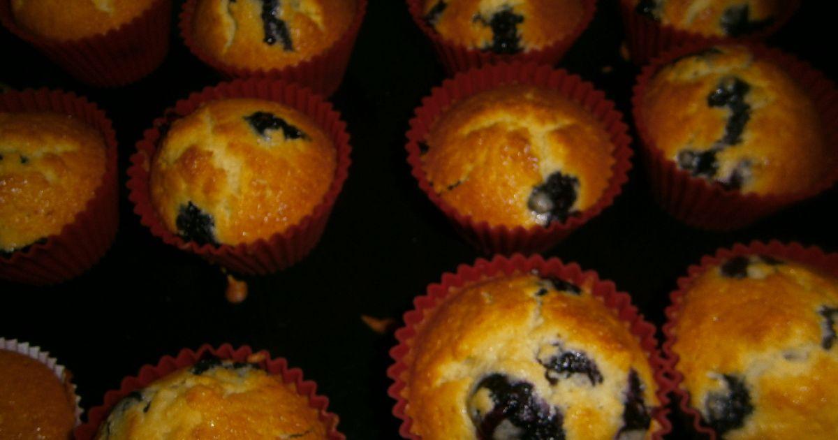 Čučoriedkové muffiny, fotogaléria 9 / 10.