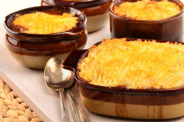 Zapekaná zemiaková kaša  ako príloha |
