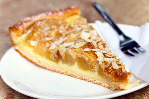 Jablkový koláč s mandľami |