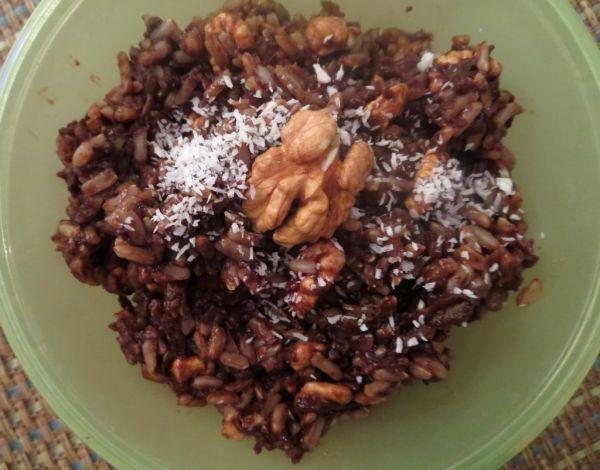 Kakaovo-perníková ryža s jablkom |