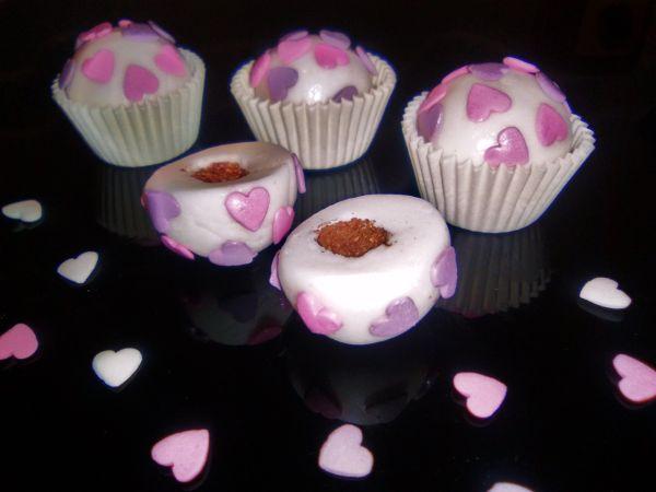 Valentínske košíčky s chocobobbles  