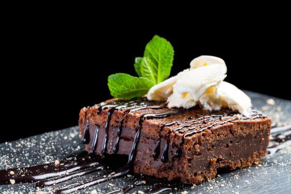 Čokoládový koláč bez pečenia |