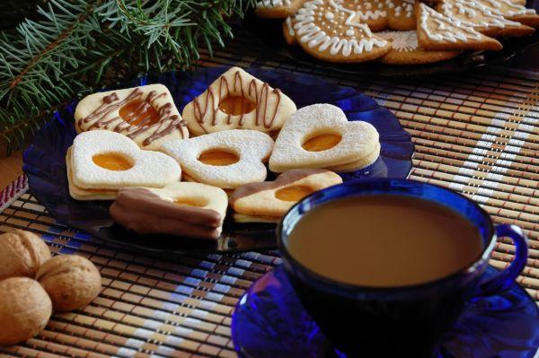 Linecké koláčiky s vanilkou |