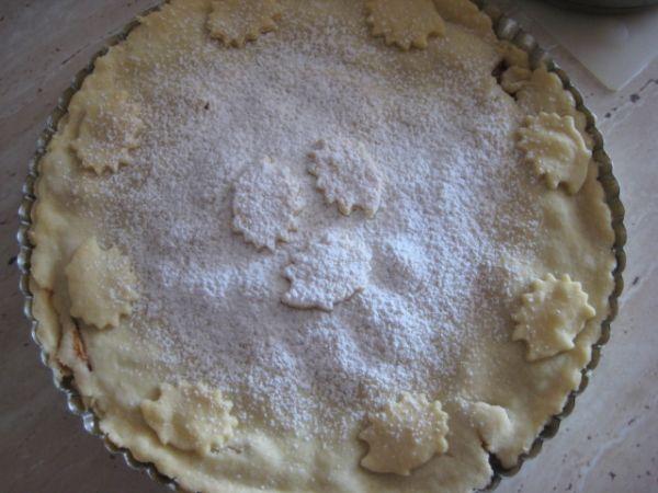 Krehký jablkový koláčik |