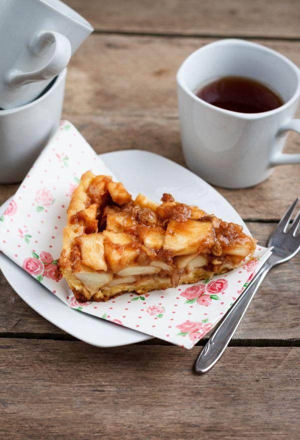Obrátený jablkový koláč |