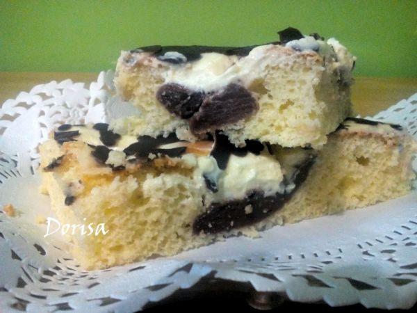 Tvarohovo-pudingový koláč |
