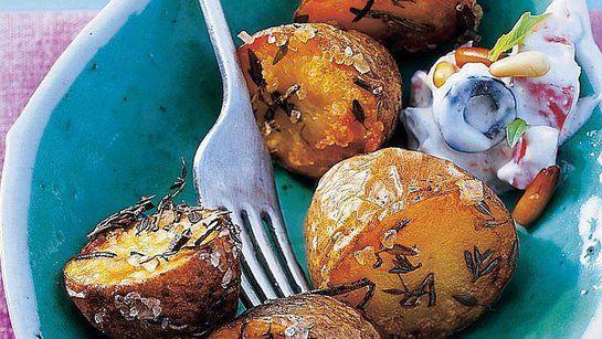 Opekané zemiaky s dipom |