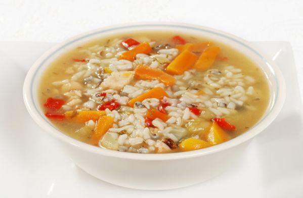 Polievka z ryže a zeleniny |