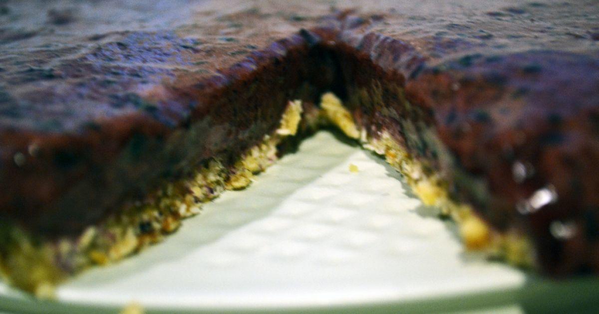 RAW bananovo-čučoriedkový dezert, fotogaléria 8 / 8.