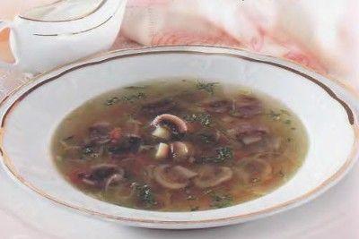 Hubová polievka |