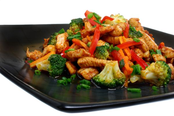 Kuracia panvica so zeleninou |