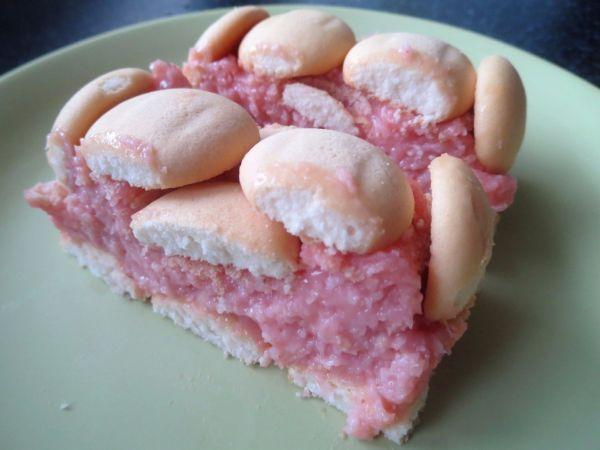 Kokosový pudingový koláč bez pečenia |