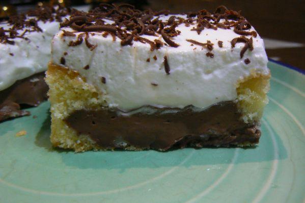 Pudingový koláč |