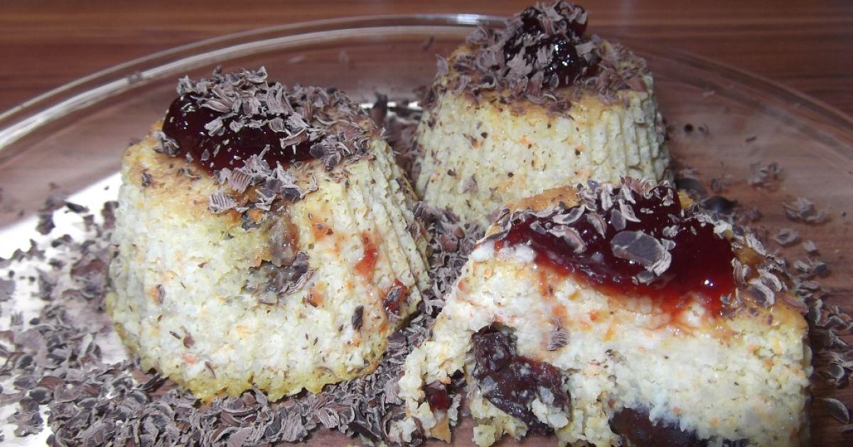 Obrátené pšenové muffiny bez cukru, fotogaléria 1 / 13.