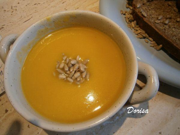 Tekvicovo-pórková polievka |