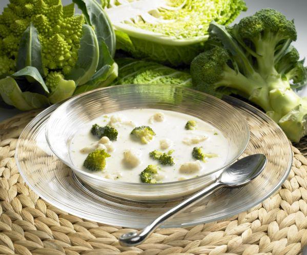 Karfiolovo-brokolicová polievka |