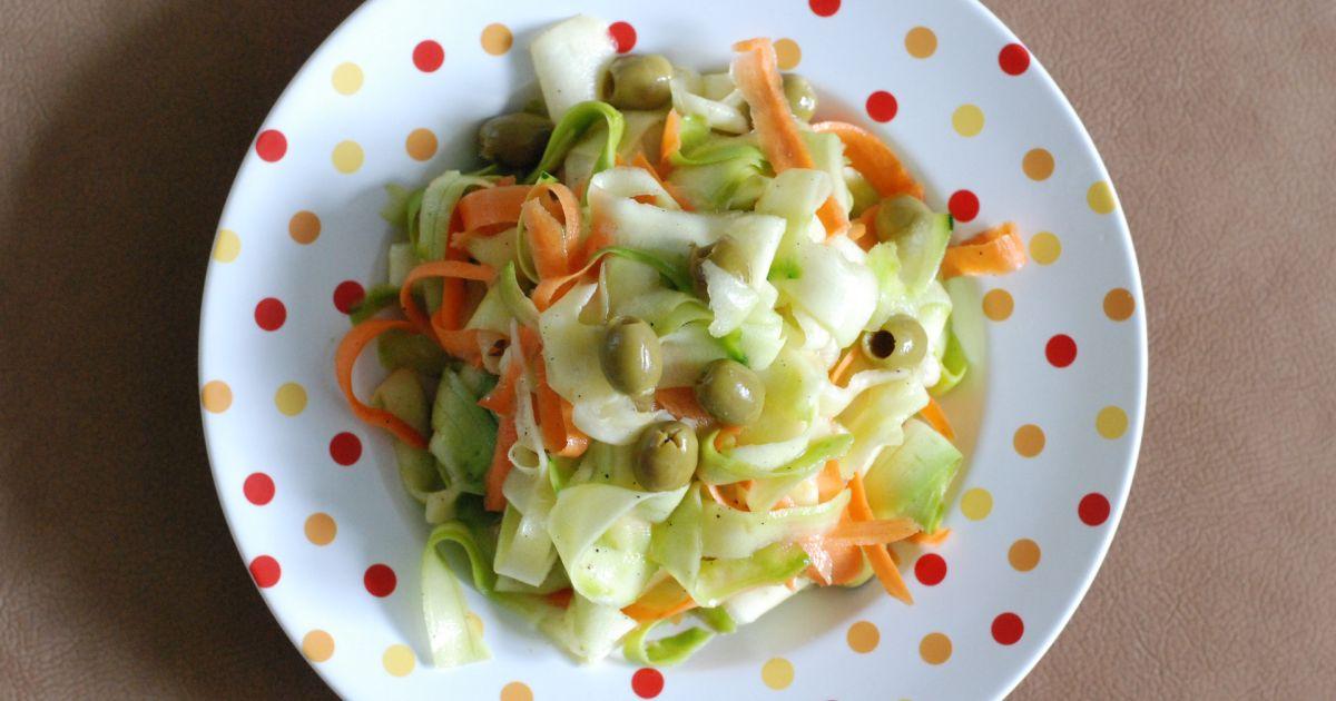 Cuketovo-mrkvový šalát s olivami, fotogaléria 8 / 8.