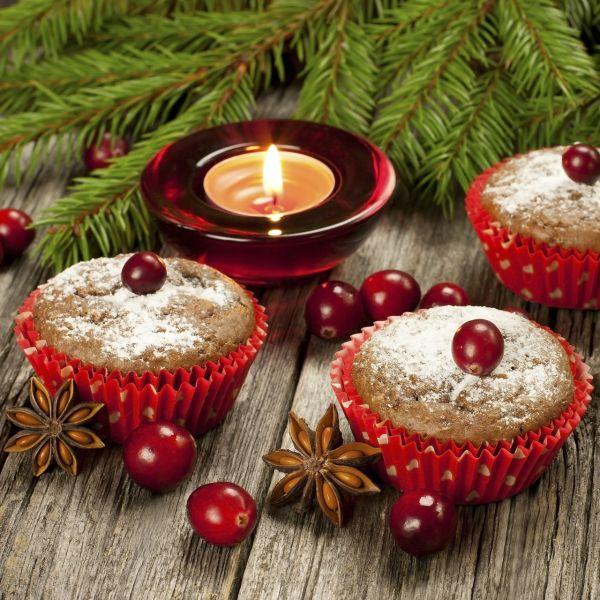 Vianočné muffiny |