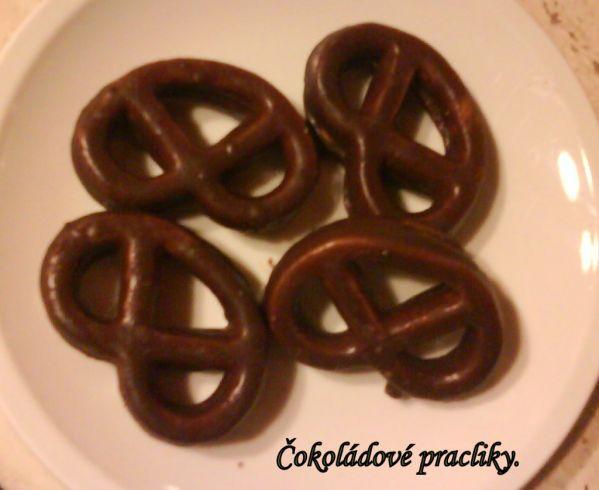 Čokoládové praclíky |