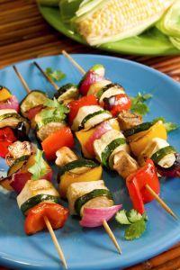 Zeleninový špíz s Tofu syrom |