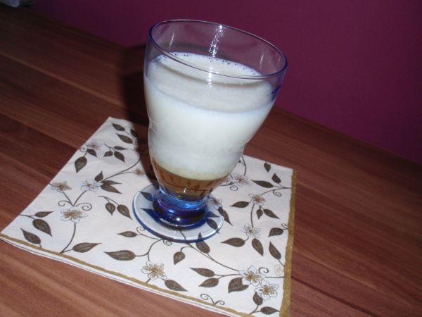 Banánovo-vanilkový mliečny koktail |