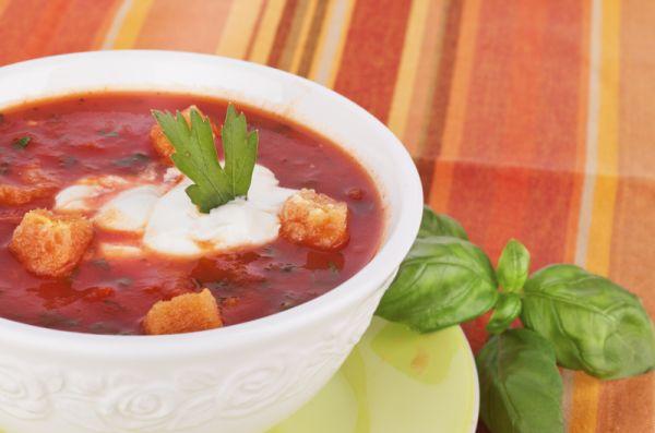 Hustá paradajková polievka |