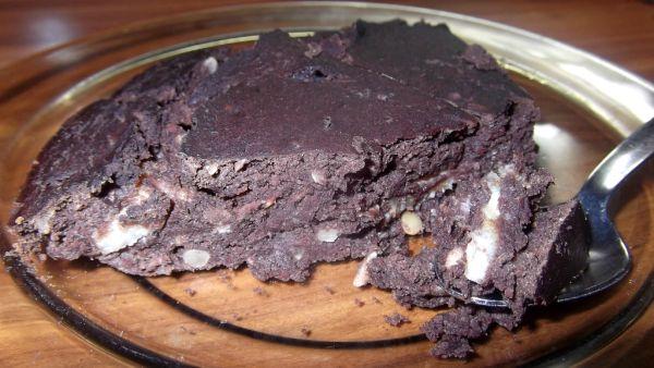 Kakaový koláč z fazule |