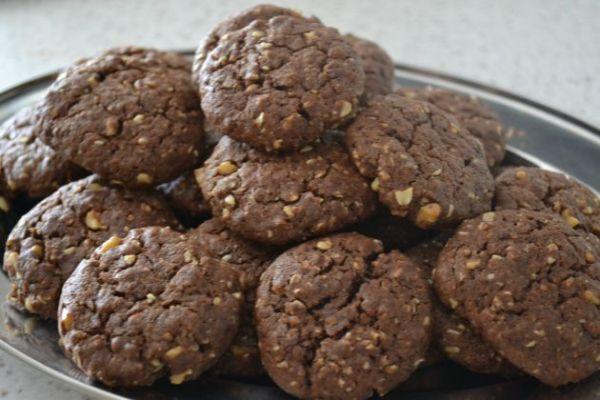 Čokoládové cookies s ovsenými vločkami |