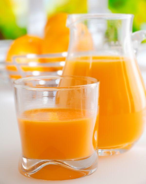 Džús z pomarančovej kôry |