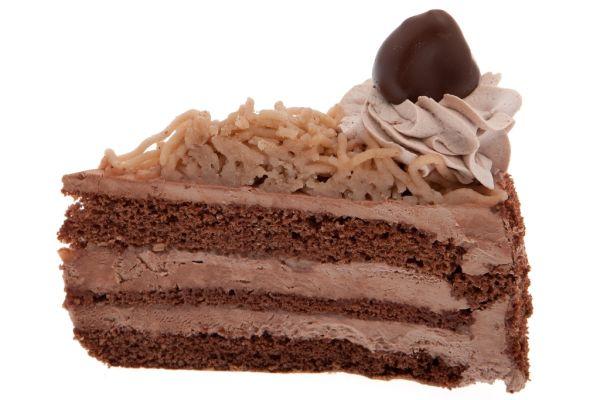 Torta s gaštanovým pyré |