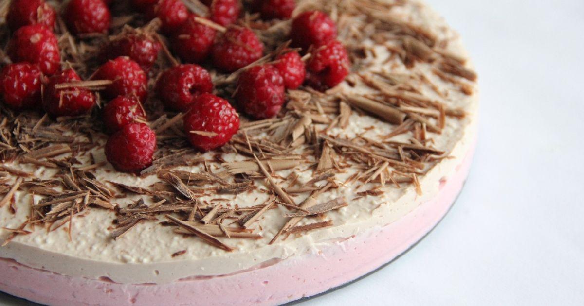 Malinovo-kakaová torta, fotogaléria 9 / 9.