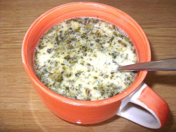 Bylinková polievka s hlivou |