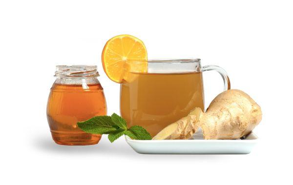 Domáci zázvorový čaj |