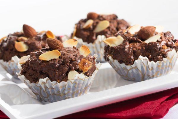 Čokoládové muffiny s ovsenými vločkami |