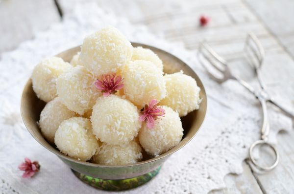 Rýchle kokosové guľky |