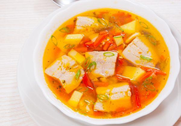 Rybacia polievka so zeleninou |