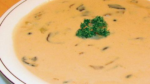 Francúzska hubová polievka |