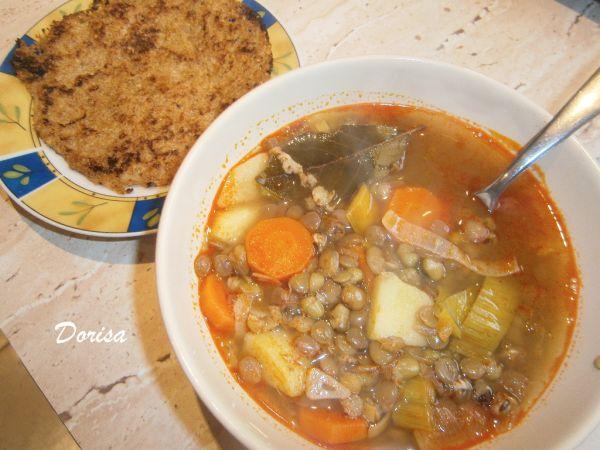Šošovicovo-mungová polievka |